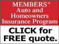 Members Auto and Homeowners Insurance Program